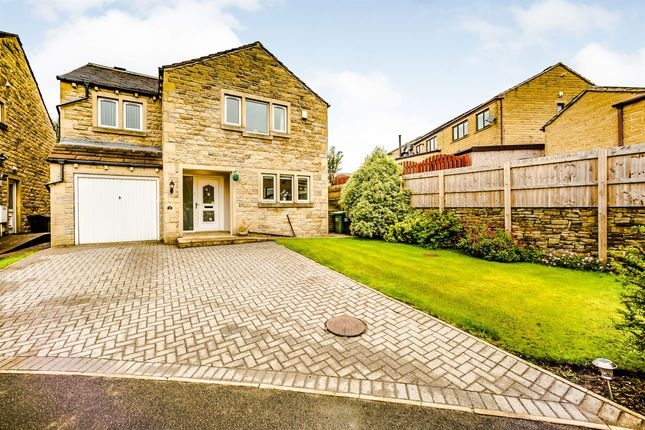 Thumbnail Detached house for sale in Moorcroft, Golcar, Huddersfield