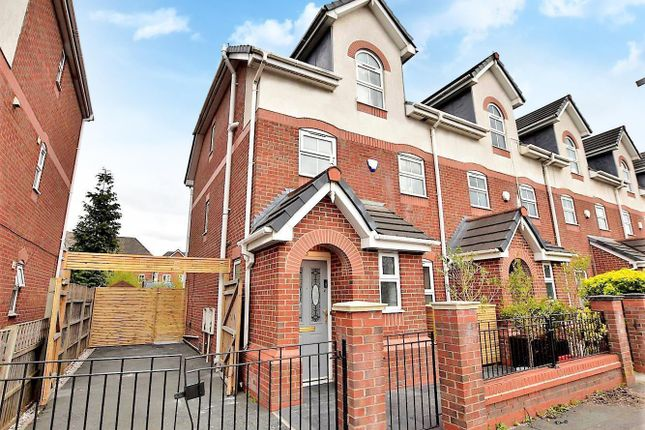 4 bed end terrace house for sale in Parrs Wood Road, Didsbury, Manchester M20