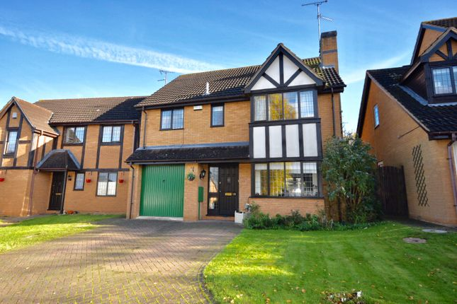 Thumbnail Detached house for sale in The Gardens, Kettering