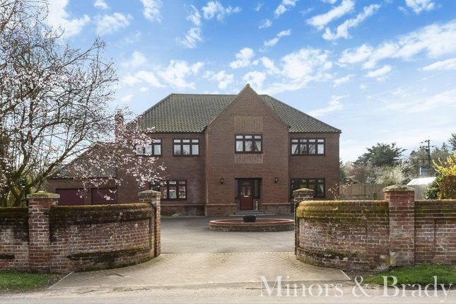 Thumbnail Detached house for sale in The Street, Ringland, Norwich