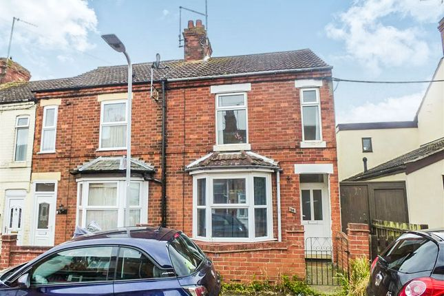 Thumbnail End terrace house for sale in Newtown Road, Little Irchester, Wellingborough