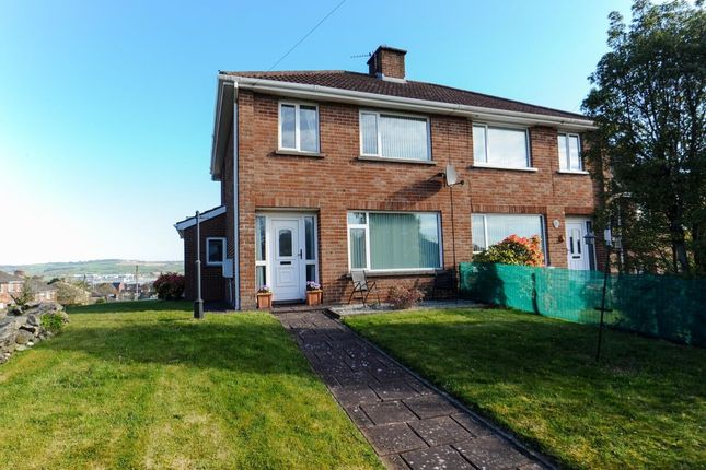 Thumbnail Semi-detached house for sale in Wanstead Road, Dundonald, Belfast