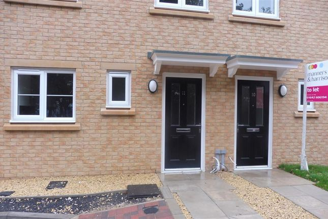 Thumbnail Town house to rent in Seaham View, Seaham Close, Norton, Stockton-On-Tees