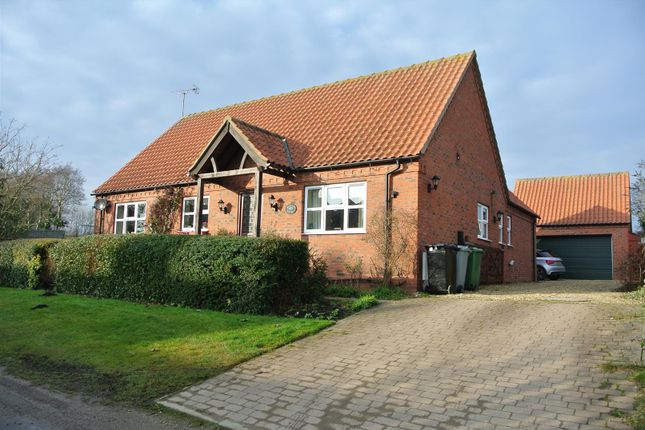 Thumbnail Detached bungalow for sale in Westby, Grantham