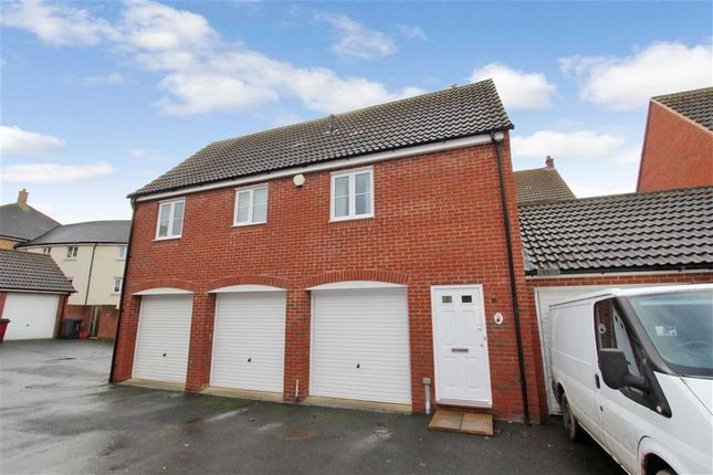 Thumbnail Detached house for sale in Smart Close, Blunsdon, Swindon