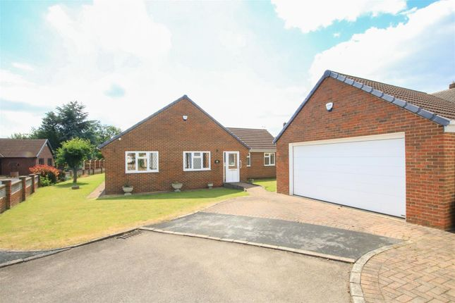 Thumbnail Detached bungalow for sale in Manor Close, Barnby Dun, Doncaster