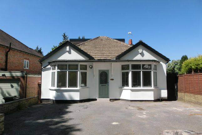 Thumbnail Detached bungalow for sale in Burnaston Road, Hall Green, Birmingham