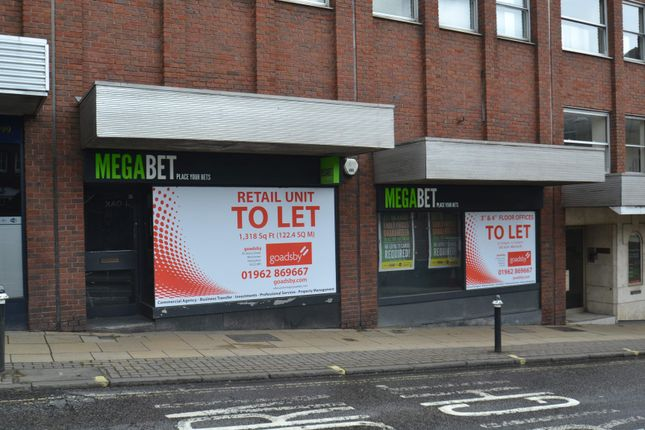 Thumbnail Retail premises to let in 14-16 St George's Street, Winchester