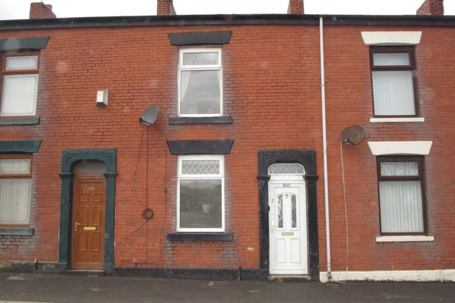 Thumbnail Terraced house to rent in Higginshaw Lane, Royton, Oldham