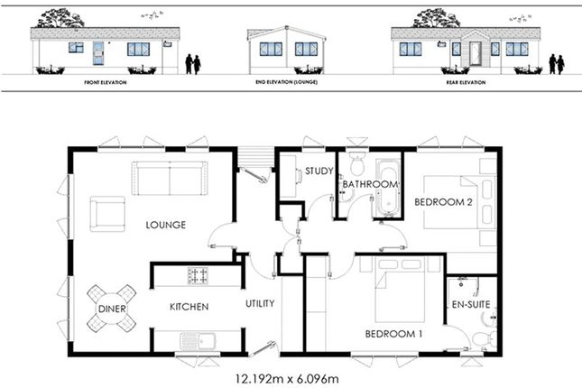Floorplan of Barton Broads Park, Maltkiln Road, Barton-Upon-Humber, North Lincolnshire DN18
