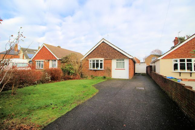 Thumbnail Detached bungalow for sale in Crescent Road, Locks Heath, Southampton, Hampshire