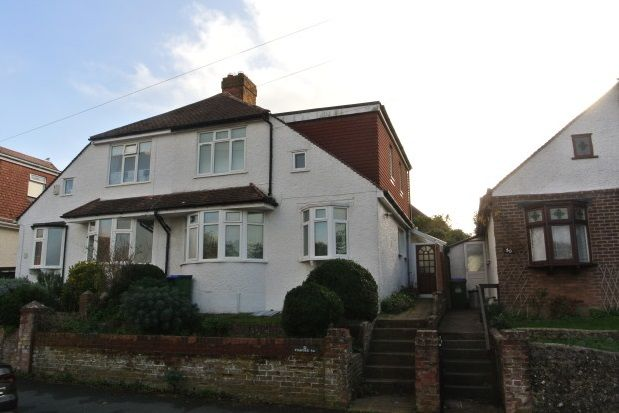 Thumbnail Semi-detached house to rent in Stafford Road, Seaford