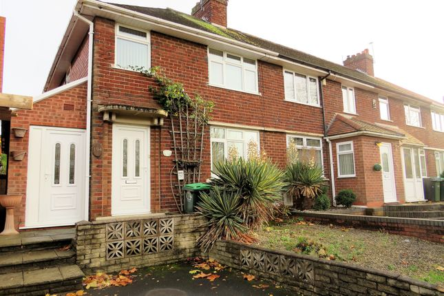 Thumbnail End terrace house for sale in Norman Road, Bearwood, Smethwick