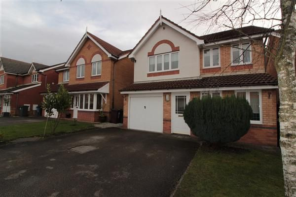 Thumbnail Detached house for sale in Shelley Court, Kirkby, Liverpool