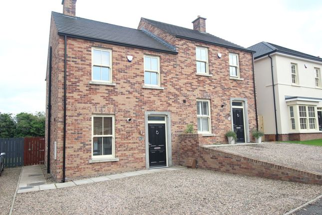 Thumbnail Semi-detached house for sale in Glen Corr Drive, Newtownabbey