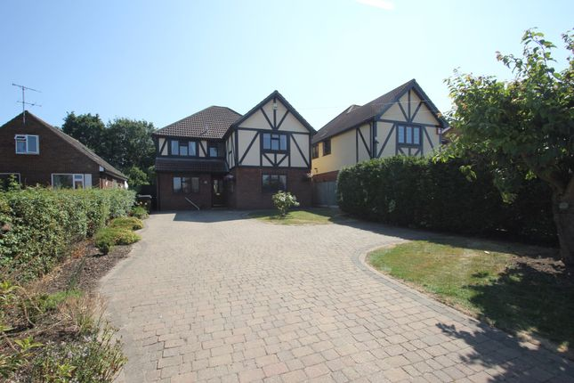 Thumbnail Detached house for sale in The Drive, Hullbridge, Hockley