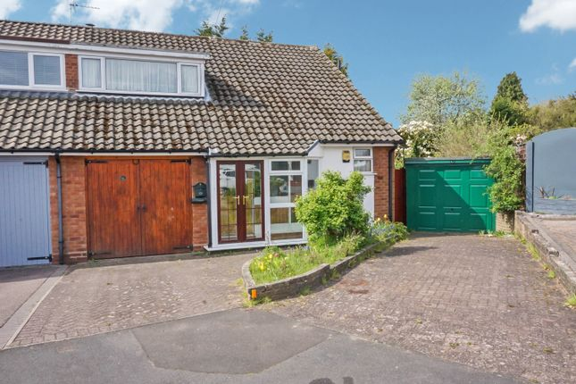 Thumbnail Semi-detached bungalow for sale in Charnley Drive, Four Oaks, Sutton Coldfield