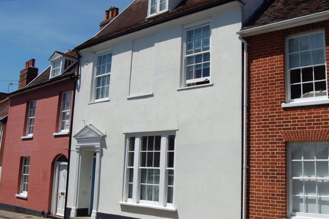 Thumbnail Terraced house for sale in Athenrye Court, Cumberland Street, Woodbridge