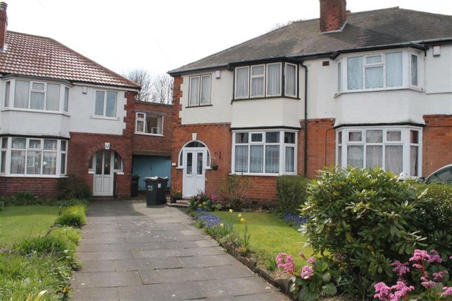 Thumbnail Semi-detached house for sale in Lawnswood Grove, Handsworth, Birmingham