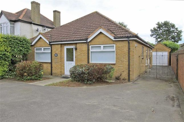 Thumbnail Detached bungalow for sale in Sipson Road, Sipson, Middlesex