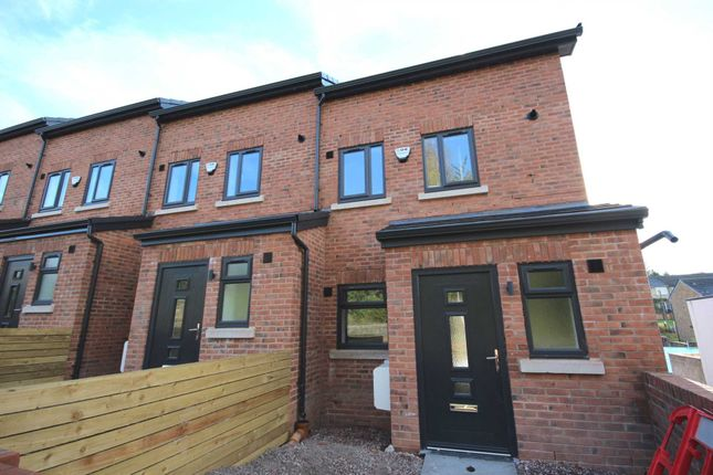 Thumbnail Town house to rent in Rainsough Brow, Prestwich, Manchester