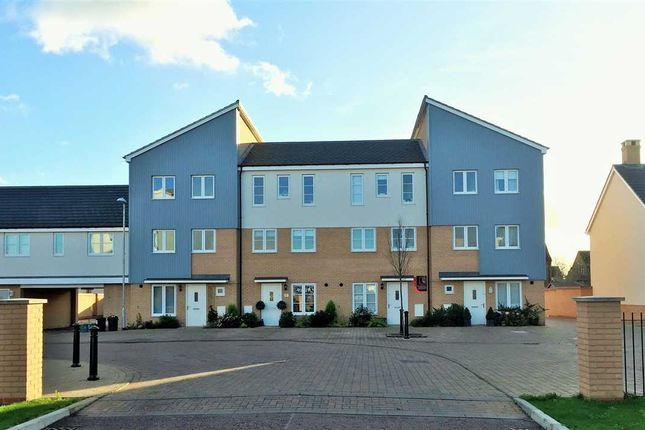 Thumbnail Town house for sale in Kensington Road, Colchester