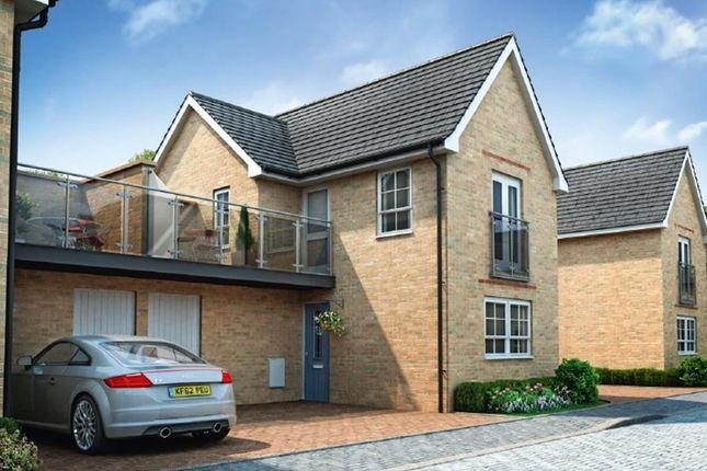 "Thumbnail Semi-detached house for sale in ""Onyx"" at Fen Street, Brooklands, Milton Keynes"