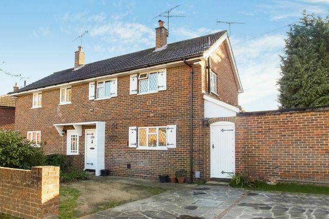 Thumbnail Semi-detached house for sale in Hawthorn Road, Hook Heath, Woking