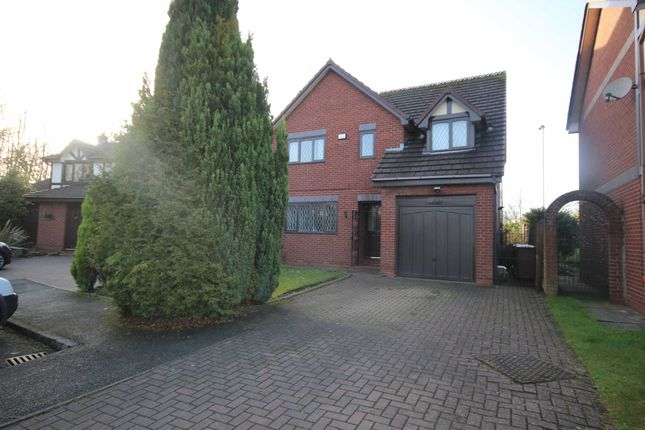 Thumbnail Detached house to rent in Bellpit Close, Worsley, Manchester