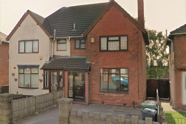 Thumbnail Semi-detached house to rent in Nursery Road, Bloxwich, Walsall