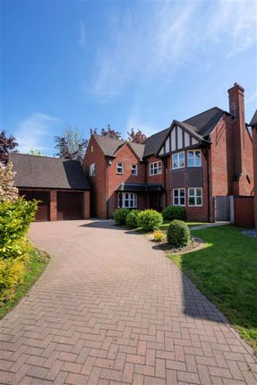 Thumbnail Detached house for sale in Warwick Manor, Solihull