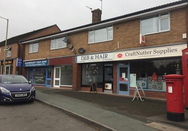 Thumbnail Retail premises to let in Unit 2, Drayton Road, Shawbury