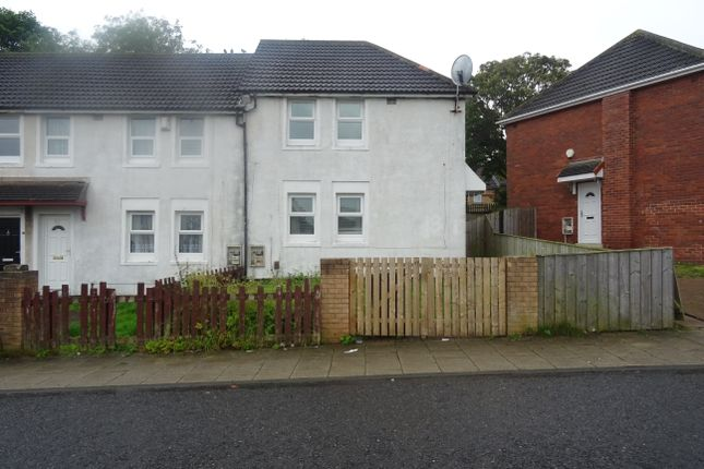 Thumbnail End terrace house to rent in Whitethorn Crescent, Newcastle Upon Tyne