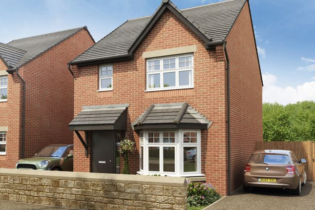 "Thumbnail Semi-detached house for sale in ""Bailey"" at Grange Avenue, Oldham"