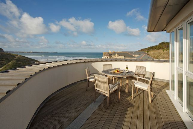 Thumbnail Flat for sale in Waves, Watergate Bay
