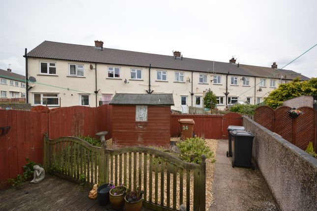 Rear Garden of Priory Drive, Cleator Moor, Cumbria CA25