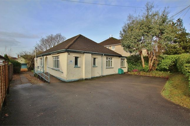 Thumbnail Detached bungalow for sale in Cyncoed Road, Cyncoed, Cardiff