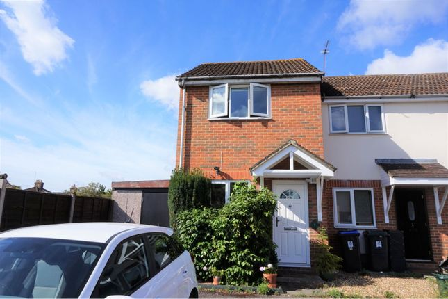 Thumbnail End terrace house for sale in Courtenay Mews, Woking