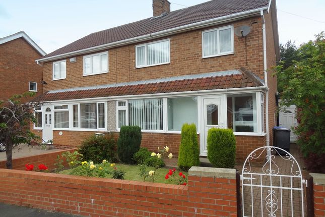 Thumbnail Semi-detached house to rent in Leesfield Gardens, Meadowfield