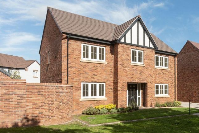 "Thumbnail Detached house for sale in ""Wolverley"" at Burton Road, Streethay, Lichfield"