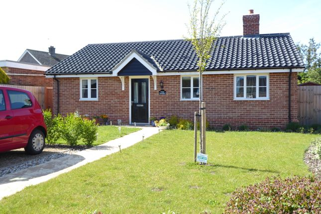 Thumbnail 2 bed detached bungalow for sale in Beckers View, Wenhaston, Halesworth