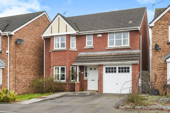Thumbnail Detached house for sale in Soarel Close, St. Mellons, Cardiff