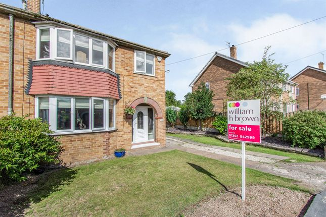 Thumbnail Semi-detached house for sale in Grange Avenue, Hatfield, Doncaster