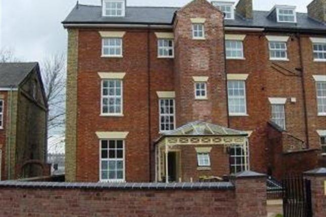 Thumbnail Flat to rent in Warwick Street, Rugby, Warwickshire