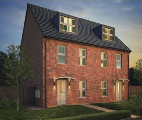 Thumbnail Semi-detached house for sale in Richmond Lane, Kingswood