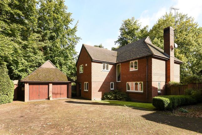 Thumbnail Detached house for sale in Lower Wokingham Road, Crowthorne, Berkshire, 6Db.