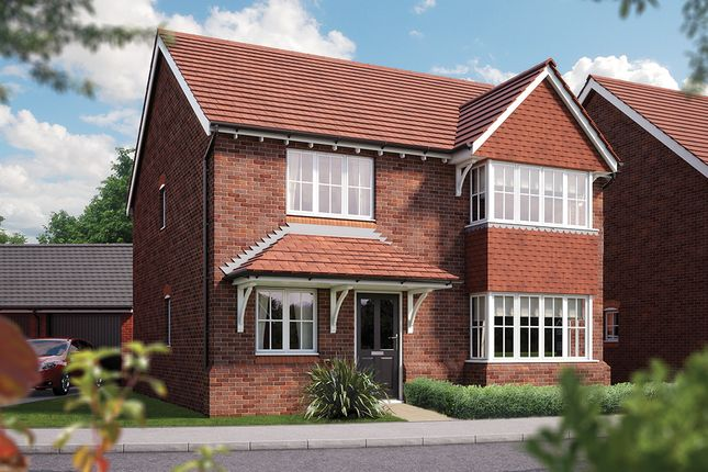 "Thumbnail Detached house for sale in ""The Canterbury"" at Weights Lane Business Park, Weights Lane, Redditch"