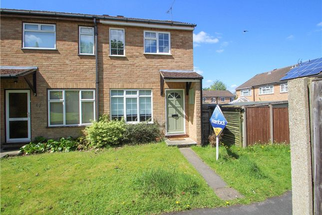 Thumbnail End terrace house for sale in Tiverton Way, Frimley, Camberley, Surrey