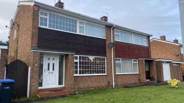 Thumbnail Semi-detached house for sale in Fountains Drive, Middlesbrough