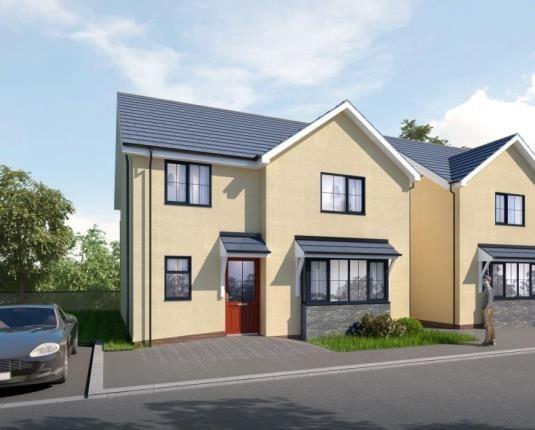 Thumbnail Detached house for sale in Fron Deg, Rhostryfan